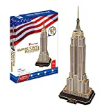 CubicFun- Puzzle 3D Empire State Building (CPA Toy Group Trading S.L. MC048h)