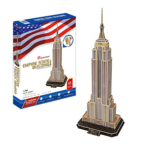 Empire State Building New York 3D Puzzle Cubic Fun