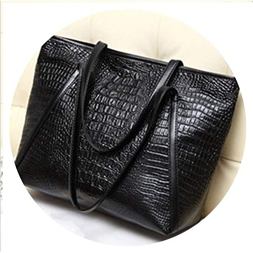 Closure Type:Zipper,Gender:Women,Shape:Casual Tote,Occasion:Versatile Style:Fashion,Main Material:COULD,Number of Handles/Straps:Two,size:39cm x 16cm x 31cm Types of bags:Shoulder & Handbags,Item Type:Handbags,Hardness:Soft Pattern Type:Alligator,Ext...
