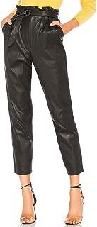Best plus size faux leather jogger pants Reviews