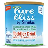 Pure Bliss by Similac Toddler Drink with Probiotics, Starts with Fresh Milk from Grass-Fed Cows,...