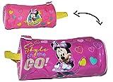 Unbekannt Federmappe / Kosmetiktasche - Minnie Mouse - Schlamper Etui Kinder Federtasche...