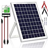SOLPERK 20W Solar Panel,Solar trickle Charger,Solar Battery Charger and...