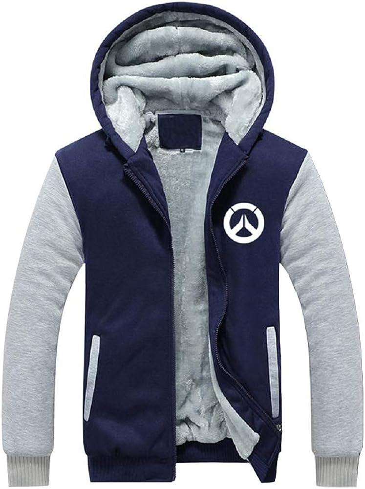 OW Max 49% Max 45% OFF OFF Hoodie Sweatshirt Cosplay Velvet Hoody Plus Fleece
