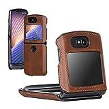 DDJ Case for Motorola Moto Razr 5G Leather Phone Case Cover