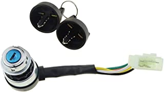 WOOSTAR 5 Wire Ignition Key Switch For Gokart ATV Dune Buggy