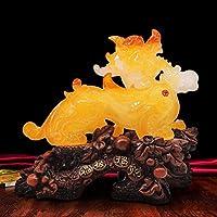 像彫刻鑑賞彫刻像樹脂ラッキーマスコット風水飾りホームディスプレイキャビネットリビングルームコーヒーデコレーション彫刻