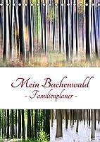 Mein Buchenwald - Familienplaner (Tischkalender 2022 DIN A5 hoch): Ein Buchenwald im Wandel der Jahreszeiten (Familienplaner, 14 Seiten )