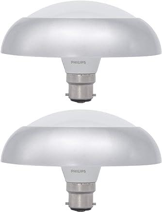 Philips Deco Ring 10 Watt LED Bulb, Base B22 (Cool Daylight, Pack of 2)