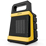 OPOLAR 1500W Ceramic Space Heater with Adjustable Thermostat, Fast Heating for Small and Middle...