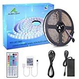 LED Streifen 10M, ALED LIGHT RGB LED Strip 5050 SMD 600 LED Band, LED Bar, LED Lichtband Nicht...