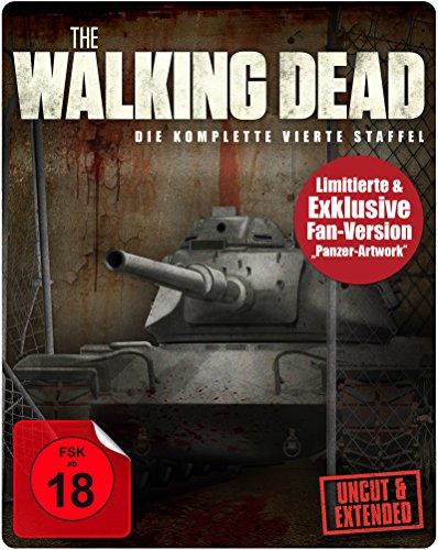 The Walking Dead - Staffel 4 (Exklusive Fan Steelbook Limited Edition) [Blu-ray]