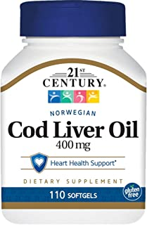 Norwegian Cod Liver Oil 110 Sgels