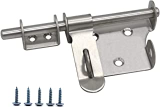 sliding padlock bolt