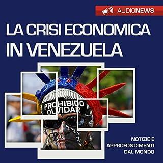 La crisi economica in Venezuela copertina