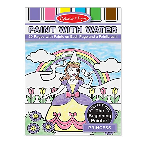 Melissa & Doug Paint with Water - Princess, One Size, Model Number: 4166