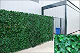 Artificial Ivy Hedge Fencing Indoor/Outdoor Faux Leaf Privacy Fence Screen