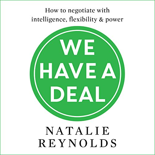 We Have a Deal audiobook cover art