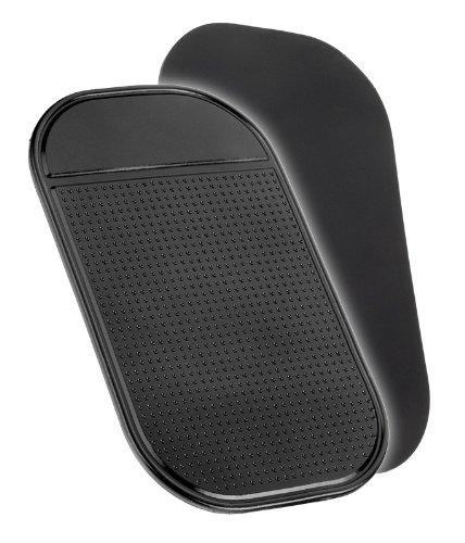 YAYAGO Anti Rutsch Matte Haft Pad schwarz Handy/Schlüssel/KFZ Auto/Küche/Werkstatt/UVM. für z.B. Ihr Handy