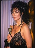 Posterazzi Cher In Press Room Just After Receiving Her Oscar For Best Actress In Moonstruck Poster Print, (8 x 10)