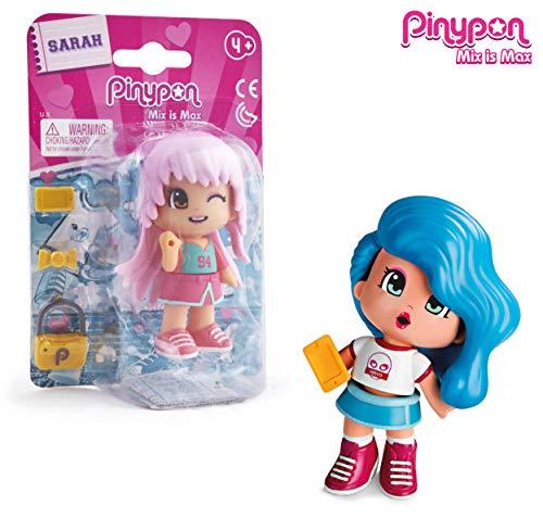 Famosa- PinyPon Puppe Teens 4 Modelle, Mehrfarbig (700014754)