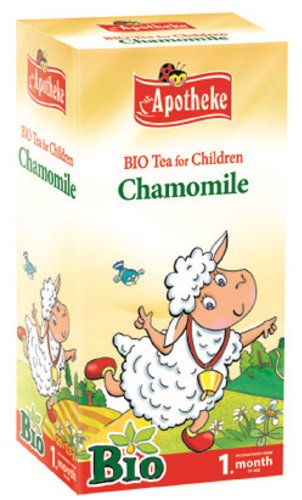 Apotheke Chamomile Tea for Children and Babies from 1 month, 20 grams, Pack of 1
