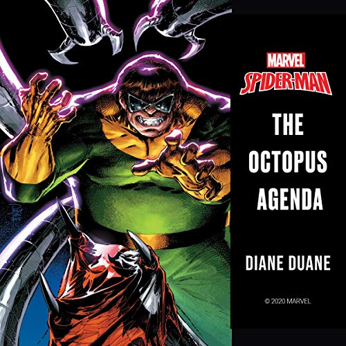 Spider-Man: The Octopus Agenda audiobook cover art