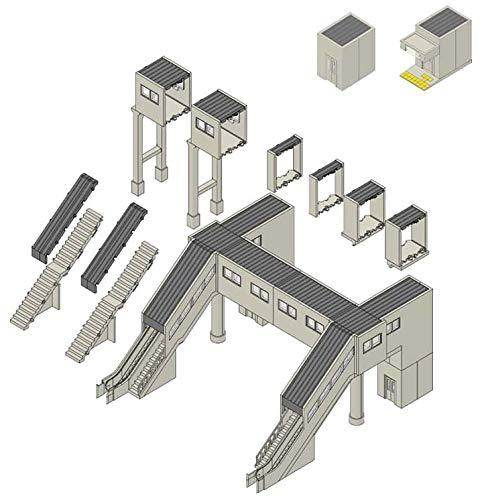 TOMIX Nゲージ マルチ跨線橋エレベーター付セット 4073 ジオラマ用品