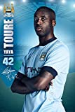 Fußball - Poster - Manchester City - Toure Stand 14/15 +