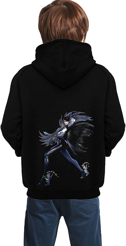 Anime Bayonetta Hoodie Teen Fashion 3d Printed Hooded Sweatshirt Pullover