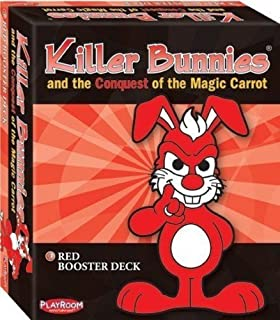 Killer Bunnies Conquest Booster Game, Red