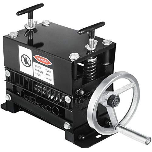 VEVOR Machine à Dénuder manuelle Y-001-1, Pince à dénuder manuelle 1-20 mm, pour recycler les fils de cuivre/enlever l'isolant en plastique et en caoutchouc des fils de ferraille intacts