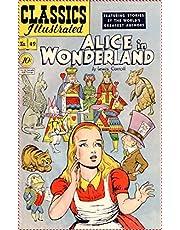 Alice In Wonderland-Lewis Carroll (modern library classics Comics Edition) (English Edition)