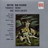 War Requiem / Threnos / Violinkonzert