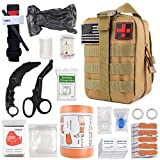 """Best Survival Kits - Emergency Survival First Aid Kit with Tourniquet, 6"""" Review"""