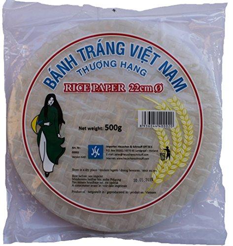 HS Rice Paper Vietnamese - Paquete de 40 x 500 gr -...