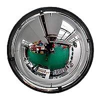 トラフィック広角レンズ アウトドア交通広角レンズ凸面鏡、パノラマドーム凸道路ミラー、角度、アクリル安全ミラー、および保護に対する万引き、ショップに適した、オフィスの表示360度 ガレージミラー凸型ミラー (Size : 60cm(24inch))