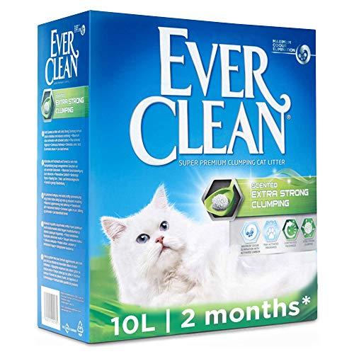 Ever Clean Lettiera Agglomerante Extra Forte, 10.Litri, Profumata
