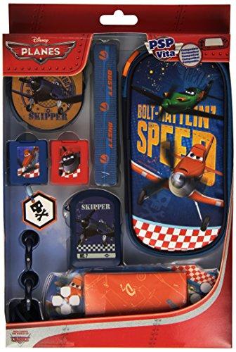 Indeca PSP/PS Vita Combination Pack - Planes - accesorios de juegos de...