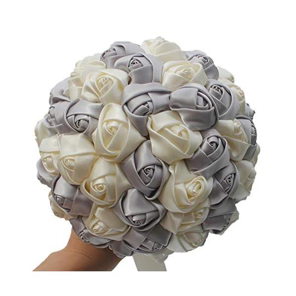 Goodbye 16 Colors Style Wedding Bouquets Rose Flowers Rustic Bouquet Bridal Bouquet Flowers Burgundy Flowers Bridesmaids Accessories