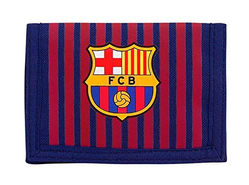 FC Barcelona 811829036 2018 Tarjetero, 12 cm, Azul