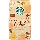 Starbucks Flavored Ground Coffee — Maple Pecan — 100% Arabica — 1 bag (11 oz)