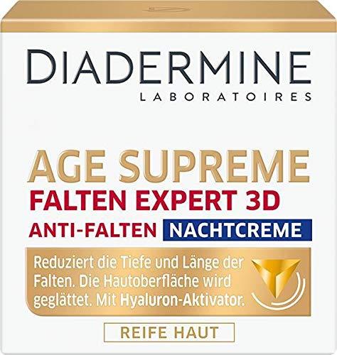 Diadermine Age Supreme Nachtcreme und Kapseln Falten Expert 3D 50 ml