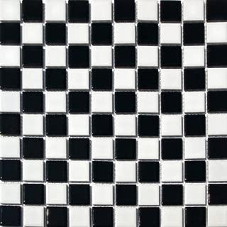 Best shiny white bathroom tiles Reviews