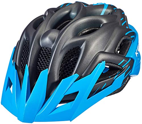 KED Status Helm Kinder Black/Blue Matte Kopfumfang M   52-59cm 2020 Fahrradhelm