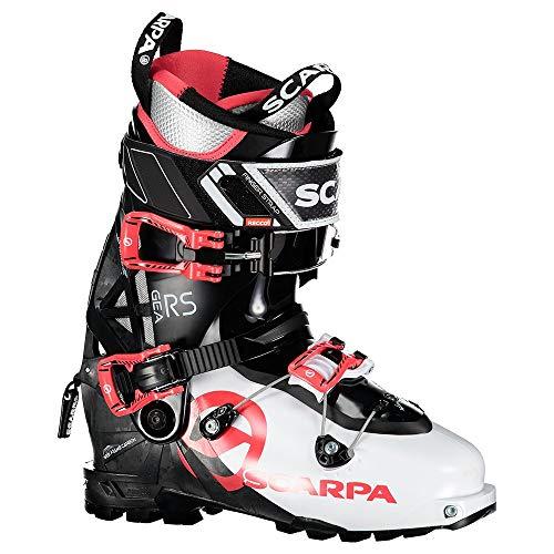 Scarpa W GEA RS Rot-Schwarz-Weiß, Damen Touren-Skischuh, Größe EU 38 - Farbe White - Black - Warm Red
