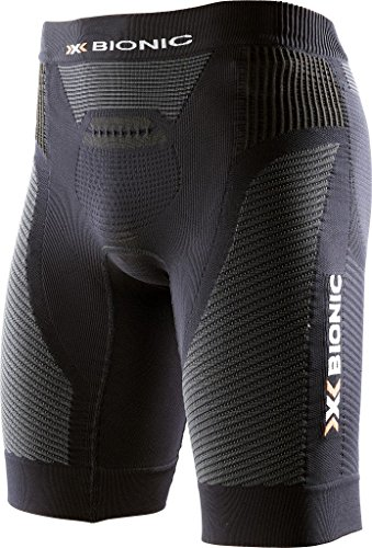 X-Bionic Herren Running Man Speed EVO OW Short Leggings, Black/Black, S