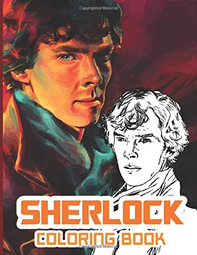 Sherlock Coloring Book: Sherlock Coloring Books For Kids And Adults