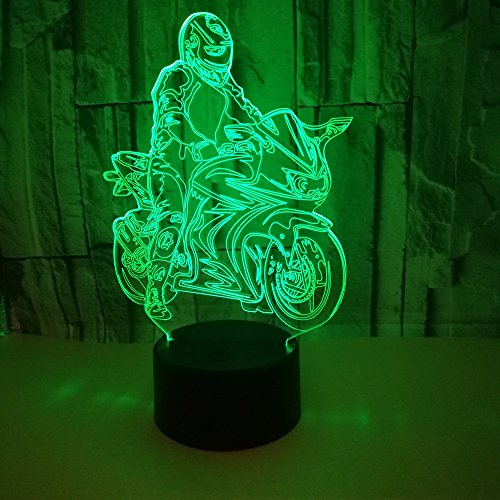 3D Jesus Night Light Led Table Lamp Touch Colorful Night Light Bedroom Home Birthday Party Decor Christmas Present Bar Decoration Bar Decoration