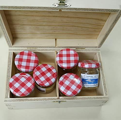 NovingCons make-uptasje, oplosbaar in water. 100% zuiver. Set van 5 stuks x 30 ml. Inclusief 1 geschenk-etenzen-gel. voor luchtbevochtiger, sauna, wellness.